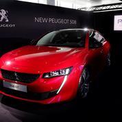 Avec sa 508, Peugeot lorgne le premium allemand