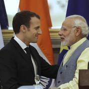 Macron en Inde : 13 milliards d'euros de contrats annoncés