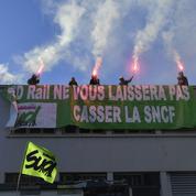Grève à la SNCF: coût minimum pour les syndicats, ennuis maximum pour les usagers