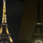 La tour Eiffel s'éteint pour la planète