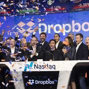 Dropbox signe une entrée en fanfare sur le Nasdaq