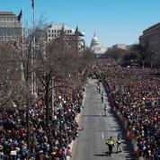 Manifestation monstre à Washington pour le contrôle des armes à feu