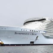 Symphony of the Seas : départ du Las Vegas des mers