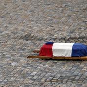Macron rend hommage au «héros» Beltrame, incarnation de «l'esprit français de résistance»