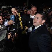 L'arrivée triomphante d'Ibrahimovic à Los Angeles