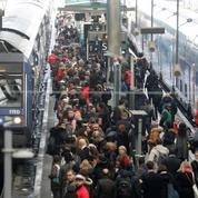 La SNCF paralysée au premier jour de grève