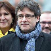 Libéré sous caution, Puigdemont échappe à l'accusation de rébellion