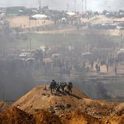 Affrontements meurtriers entre Palestiniens et soldats israéliens à la frontière de Gaza