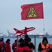 Le ciel allemand paralysé par les grèves syndicales