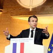 Comment Macron a longuement préparé son discours sur la religion