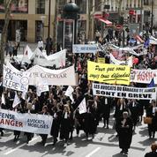 Avocats et magistrats dans la rue contre la réforme Belloubet