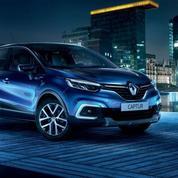 Le Renault Captur lâche les chevaux