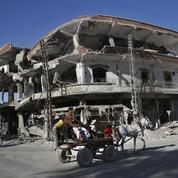 Raqqa, un champ de ruines où la vie reprend difficilement