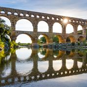 Du pont du Gard à Nîmes, la romanité en marche