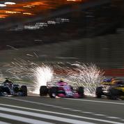 Pourquoi des Formule 1 produisent autant d'étincelles sur la piste