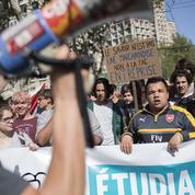 À Marseille, seules quelques dizaines de lycéens rejoignent le mouvement étudiant