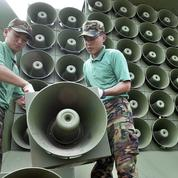 Séoul stoppe la diffusion de sa propagande à la frontière nord