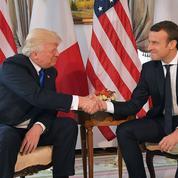 Macron, l'homme qui murmure à l'oreille de Donald Trump ?