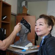 En attendant le couple Macron, Catherine Frot intronisée au musée Grévin