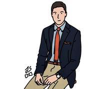 La cravate tricot, un bon point