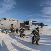Dans le Grand Nord, avec les soldats canadiens qui veillent sur leurs terres convoitées