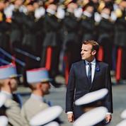 Le 8 Mai très politique de Macron