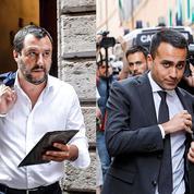 En Italie, un gouvernement antisystème se met sur les rails