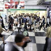 À Tokyo, des bureaux dans les couloirs du métro