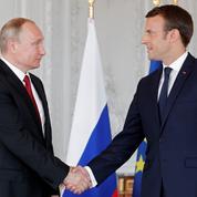 La Syrie et l'Iran, au cœur de la visite de Macron en Russie