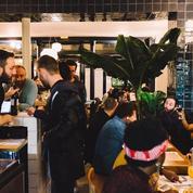 Blitz, table israélienne au square Gardette
