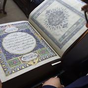 Un Coran en soie peinte à la main, manifeste de l'excellence afghane