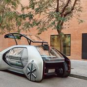 Voiture autonome: les groupes français automobiles misent sur les start-up