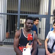 À Paris, le sauveur de l'enfant suspendu témoigne : «C'est lui qui m'a donné le courage»