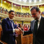 Rajoy chassé du pouvoir en Espagne