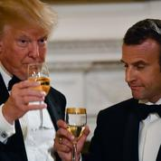 La pirouette de Macron pour éviter de raconter son coup de fil houleux avec Trump