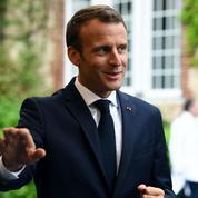 Macron sur les Bleus : «J'ai senti une équipe qui avait envie de réussir»