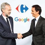 Carrefour s'allie à Google pour accélérer dans l'e-commerce