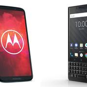 Smartphones : Motorola et BlackBerry contre-attaquent