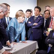 G7 : Macron et Merkel, ou la défaite de la com'