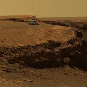 Une monstrueuse tempête de sable met en péril un rover de la Nasa sur Mars