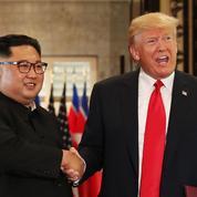 Poignée de main, accord signé... Le fil d'une journée historique entre Trump et Kim