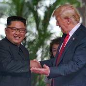 La rencontre Donald Trump - Kim Jong-un résumée en cinq images fortes
