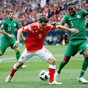 Russie - Arabie saoudite, coup d'envoi de la 21e Coupe du monde de football
