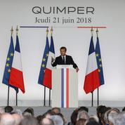 Macron dénonce «la lèpre» populiste en Europe