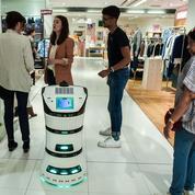 Les Galeries Lafayette adoptent les robots de Partnering Robotics