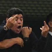 Euphorie, gestes obscènes et malaise : Maradona a tout vécu pendant Argentine-Nigeria