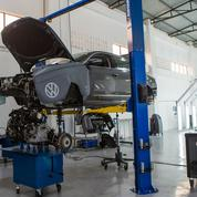 Volkswagen stocke des milliers de véhicules invendables sur des chantiers