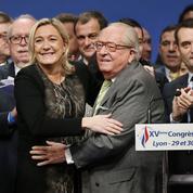 Jean-Marie Le Pen espère se réconcilier avec ses filles pour ses 90 ans