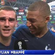 Griezmann lâche un «Vive la République !» après la qualification des Bleus