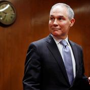 Donald Trump se sépare de son ministre de l'Environnement, miné par les scandales